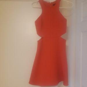 Club Monaco cut out dress